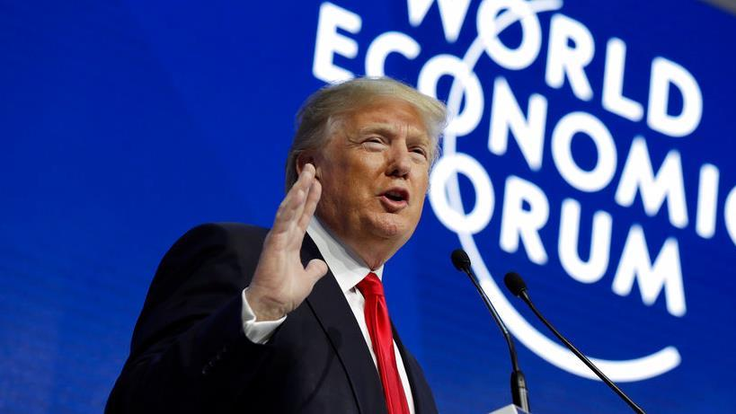 President Trump says there has never been a better time to hire in America during his speech at the World Economic Forum in Davos, Switzerland.