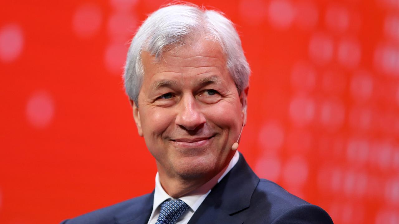 JPMorgan CEO Jamie Dimon discusses why the U.S. economy is booming and how the passing of the GOP tax reform bill will help boost American companies.
