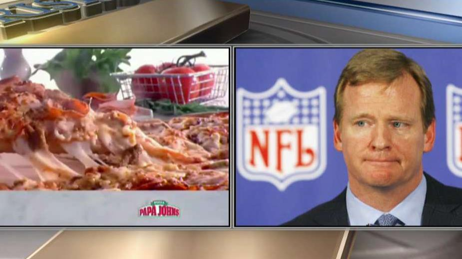 Papa John's Pizza is going to end its official sponsorship with the NFL.