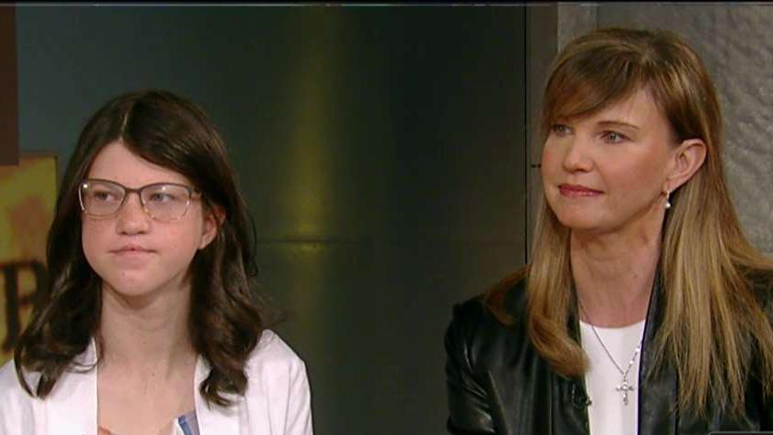Missy and Mia Robertson on Rev. Billy Graham's legacy and their 'Princess in Camo' series of books.