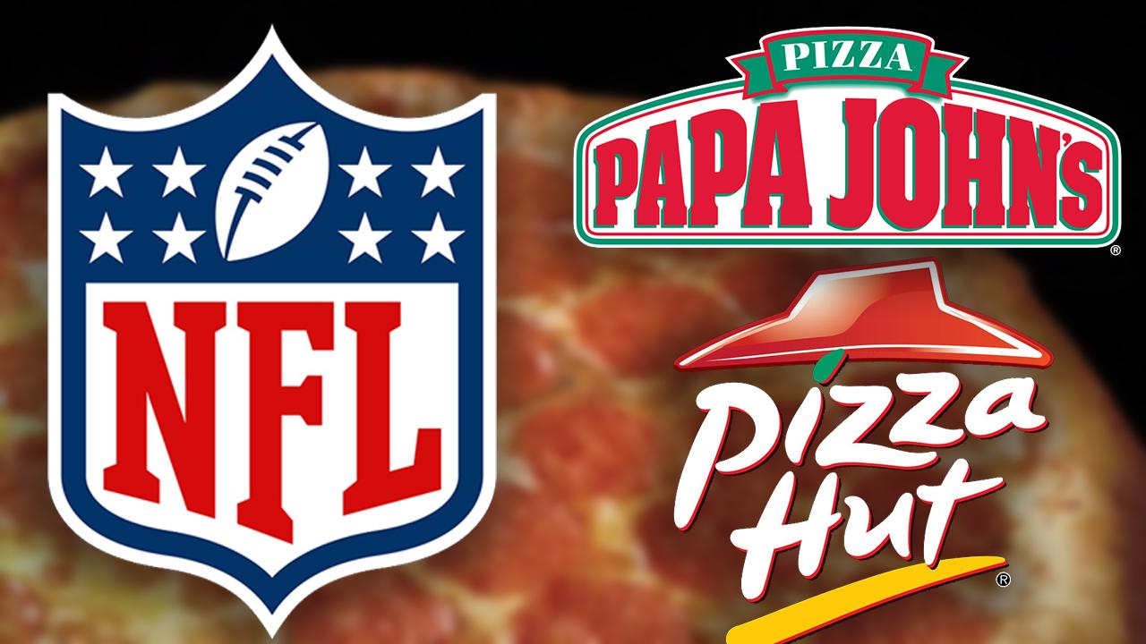 After sacking Papa John's, NFL teams with Pizza Hut