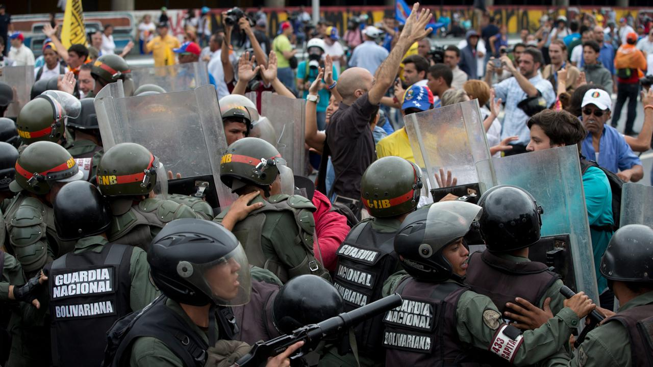 'Blood Profits' author Vanessa Neumann with the latest on the unrest in Venezuela.