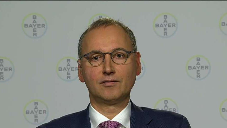 Bayer AG CEO Werner Baumann on earnings, the company's deal with Monsanto and investing in the U.S.