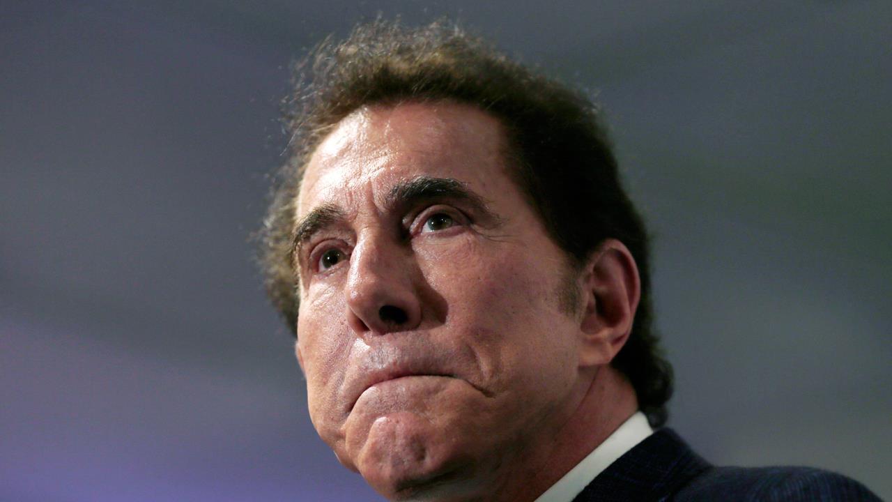 FBN's Cheryl Casone on Steve Wynn resigning as chairman and CEO of Wynn Resorts.