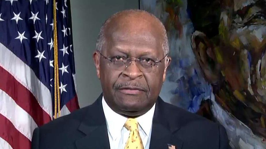 Former Republican presidential candidate Herman Cain on Delta cutting ties with the NRA and President Trump slamming Attorney General Jeff Sessions' handling of the surveillance probe.