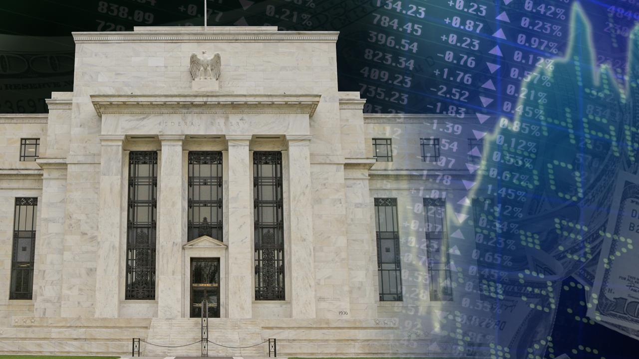 Federal Reserve sees few signs of wage growth and believes wages will pick up with improved job growth. FOX Business' Adam Shapiro reports.