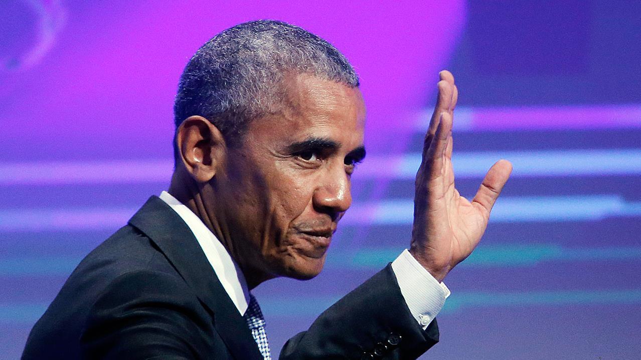 Trump blames Obama for Russia meddling