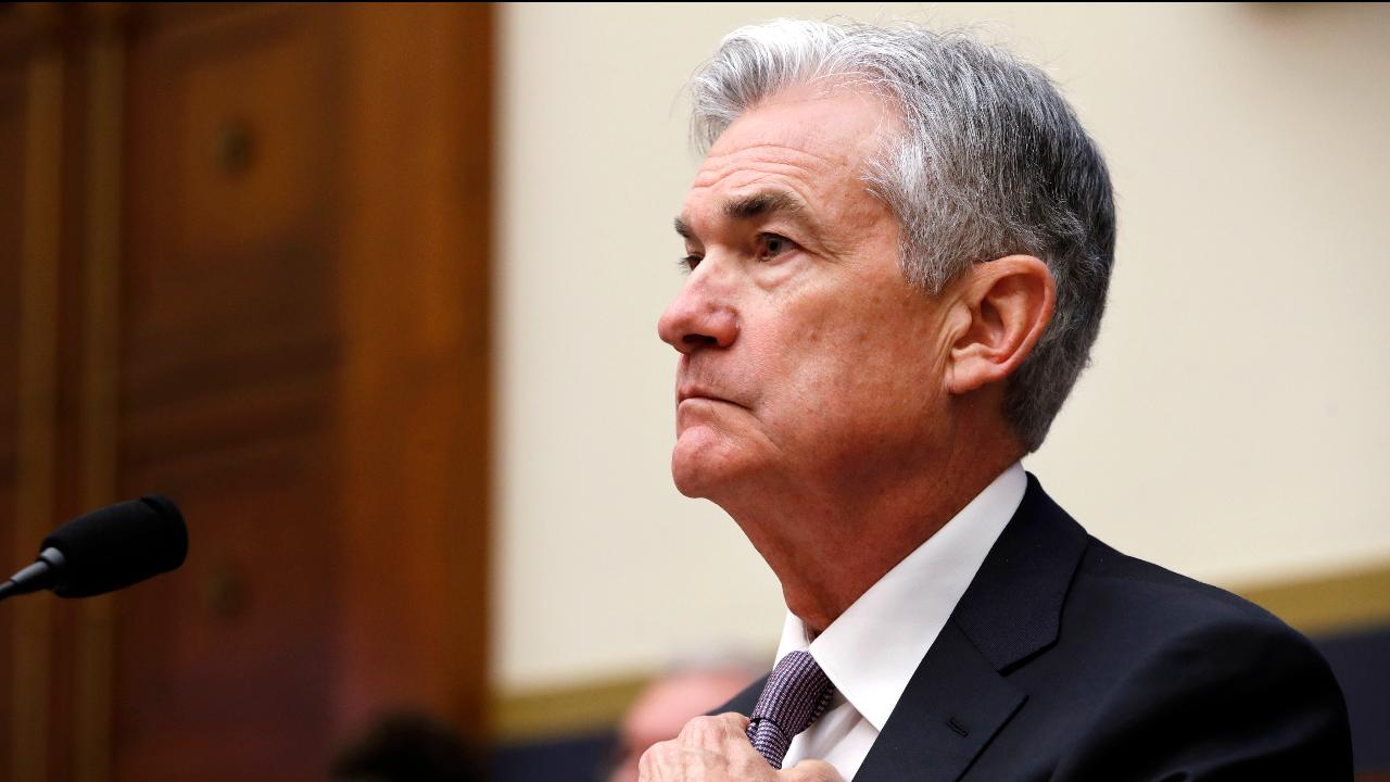 Federal Reserve Chairman Jerome Powell responds to questions about the potential market risks from complex ETFs.
