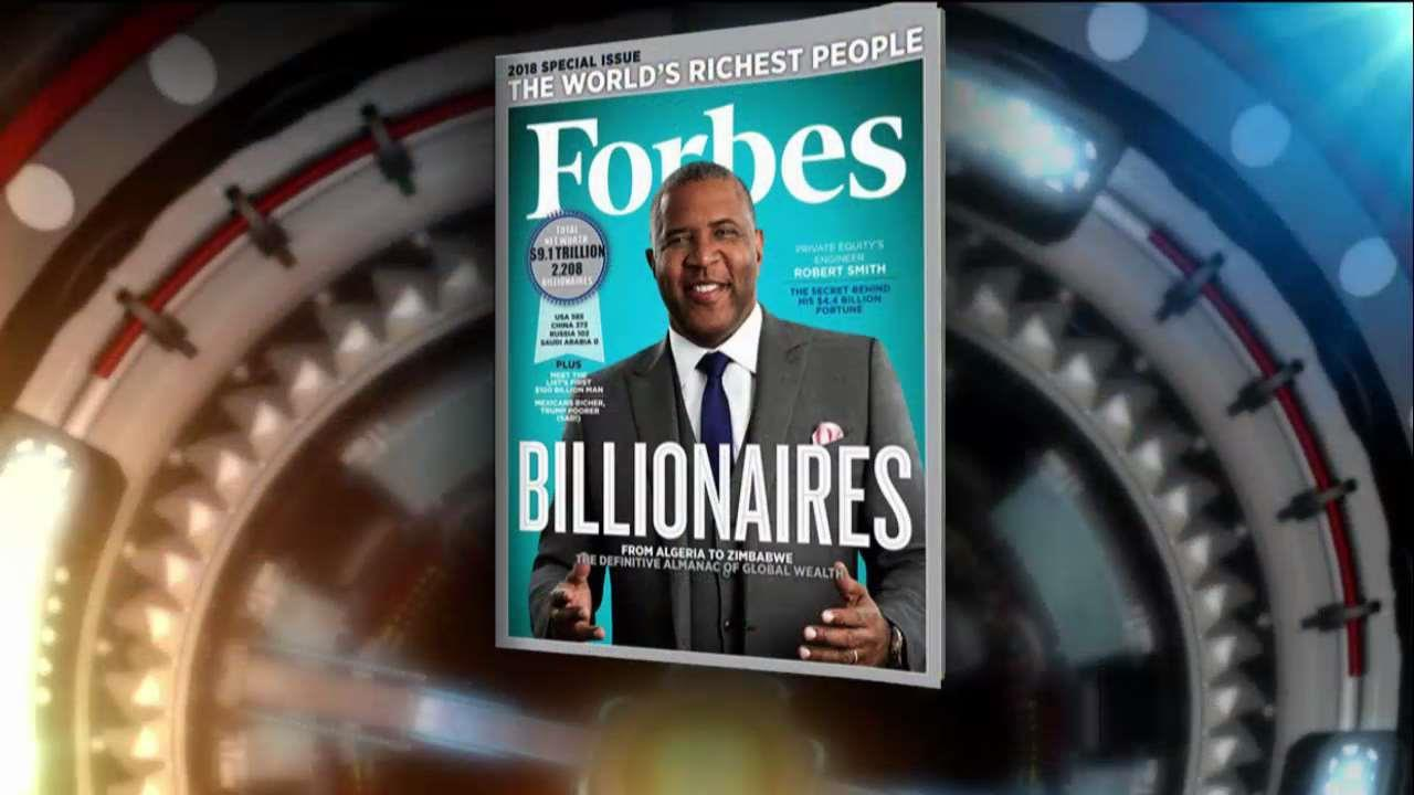 Forbes Media Chairman Steve Forbes discusses who cracked the list of the world's wealthiest people.