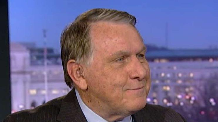 International Brotherhood of Teamsters President James P. Hoffa the future for pensions and President Trump's tax plan.