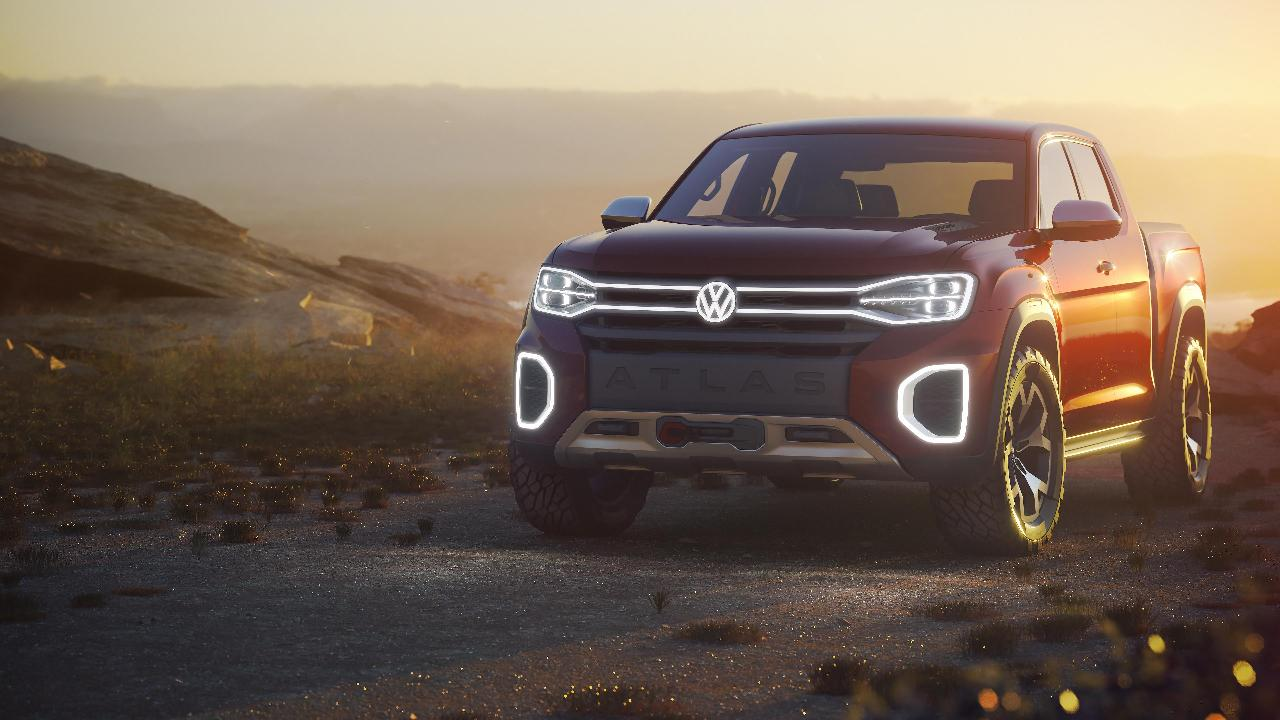 FoxNews.com Automotive Editor Gary Gastelu on Volkswagen's pickup truck concept it unveiled at the 2018 New York International Auto show.