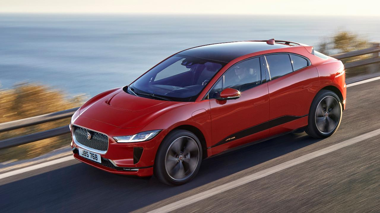 Jaguar Land Rover CEO Dr. Ralf Speth on the I-PACE, automaker's first fully electric vehicle, and the impact of potential tariffs on steel and aluminum.