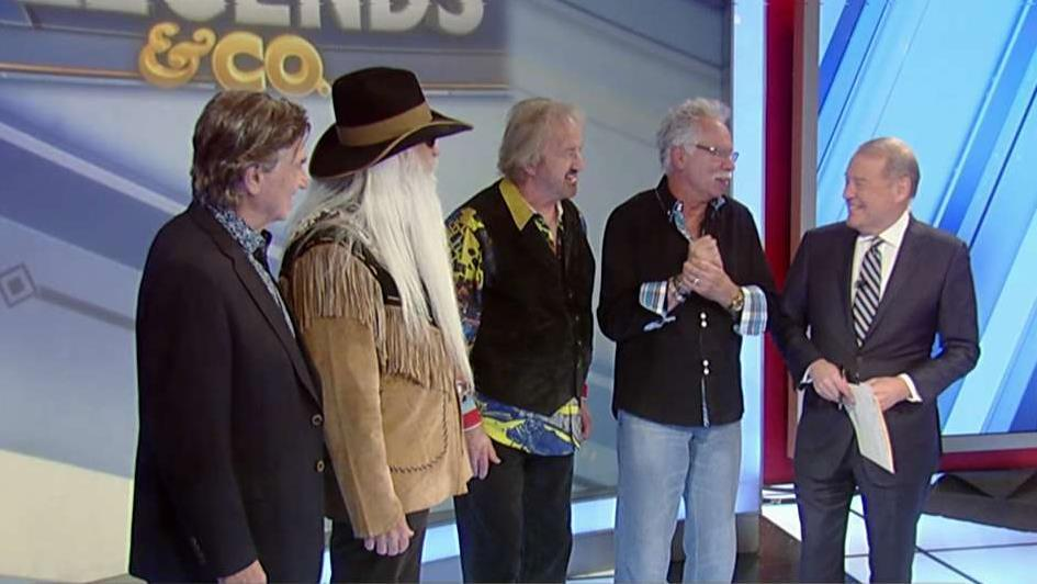 Oak Ridge Boys, the Grammy-award-winning group, discuss their new album with FOX Business' Stuart Varney.