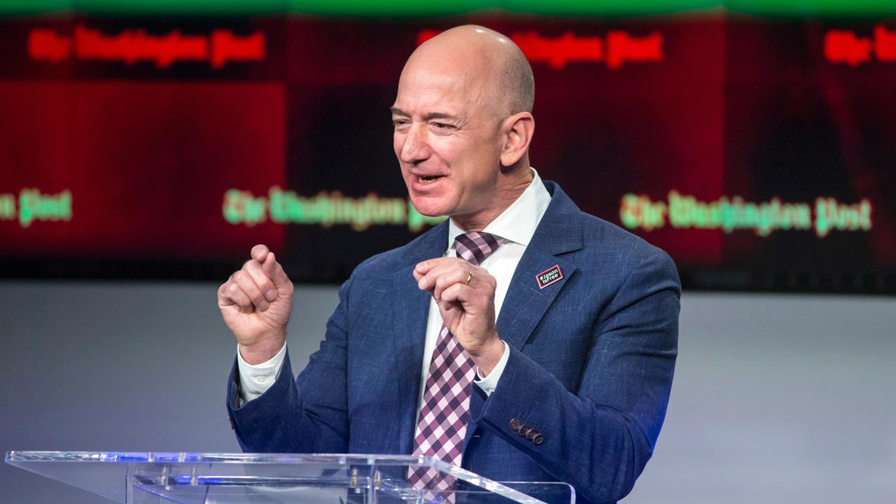 Point View Wealth Management's David Dietze and Layfield Report CEO John Layfield on reports President Trump wants to go after Amazon.