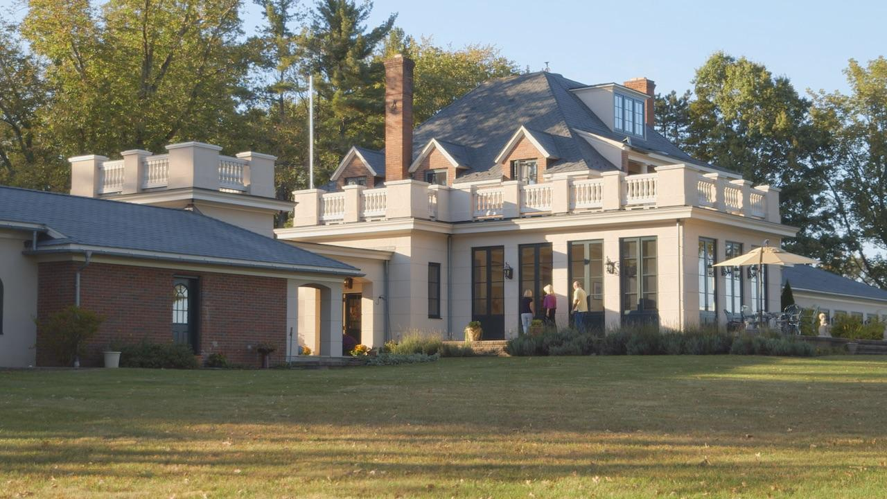 A retired school teacher inherits a French chateau that had been moved to New Jersey and filled with furnishings from the Vanderbilts' mansions.