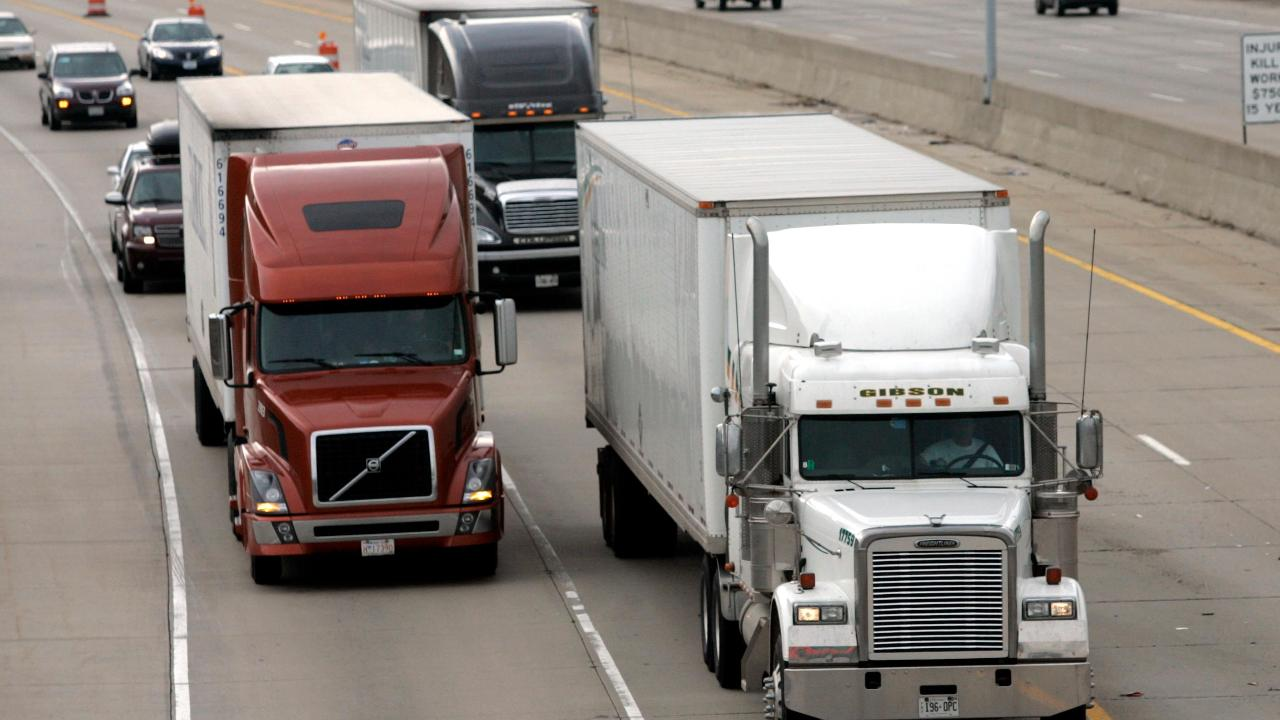 Owner-Operator Independent Drivers Association president Todd Spencer on the shortage of truck drivers.