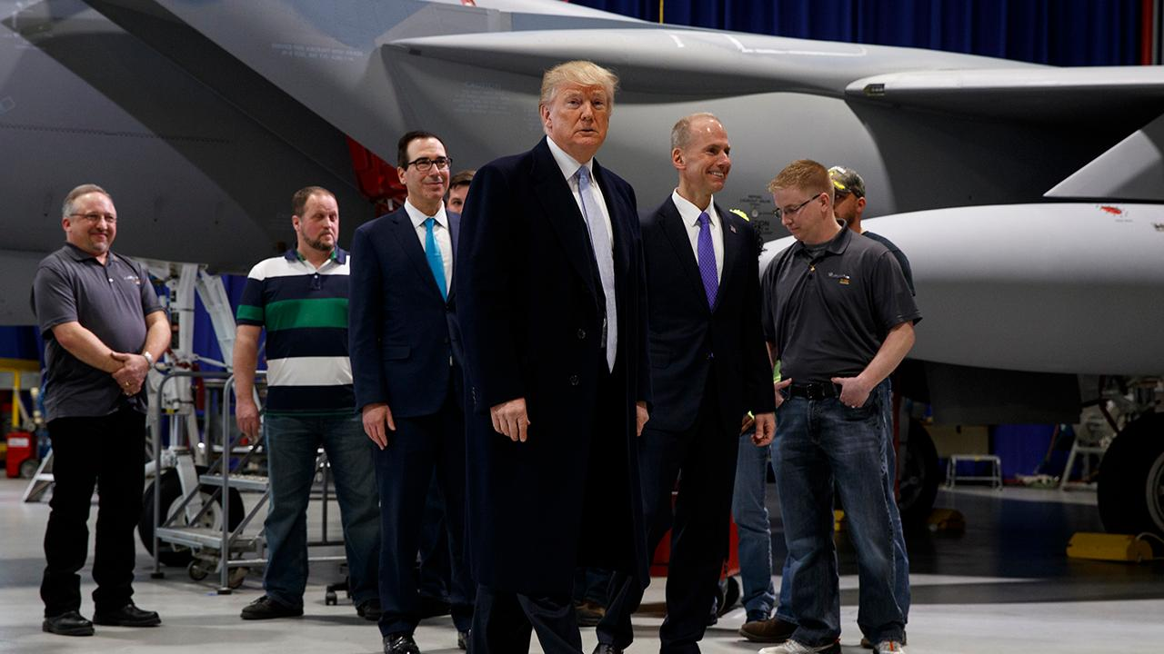 "RNC spokesperson Kayleigh McEnany discusses President Trump's visit to Boeing in Missouri and whether Trump's ""phase two"" of tax cuts will help more Americans with retirement."