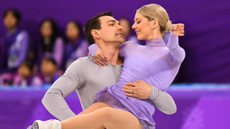 U.S. pairs figure skaters and Olympic bronze medalists Alexa and Chris Knierim on the Winter Olympics in South Korea and balancing their marriage and skating together.