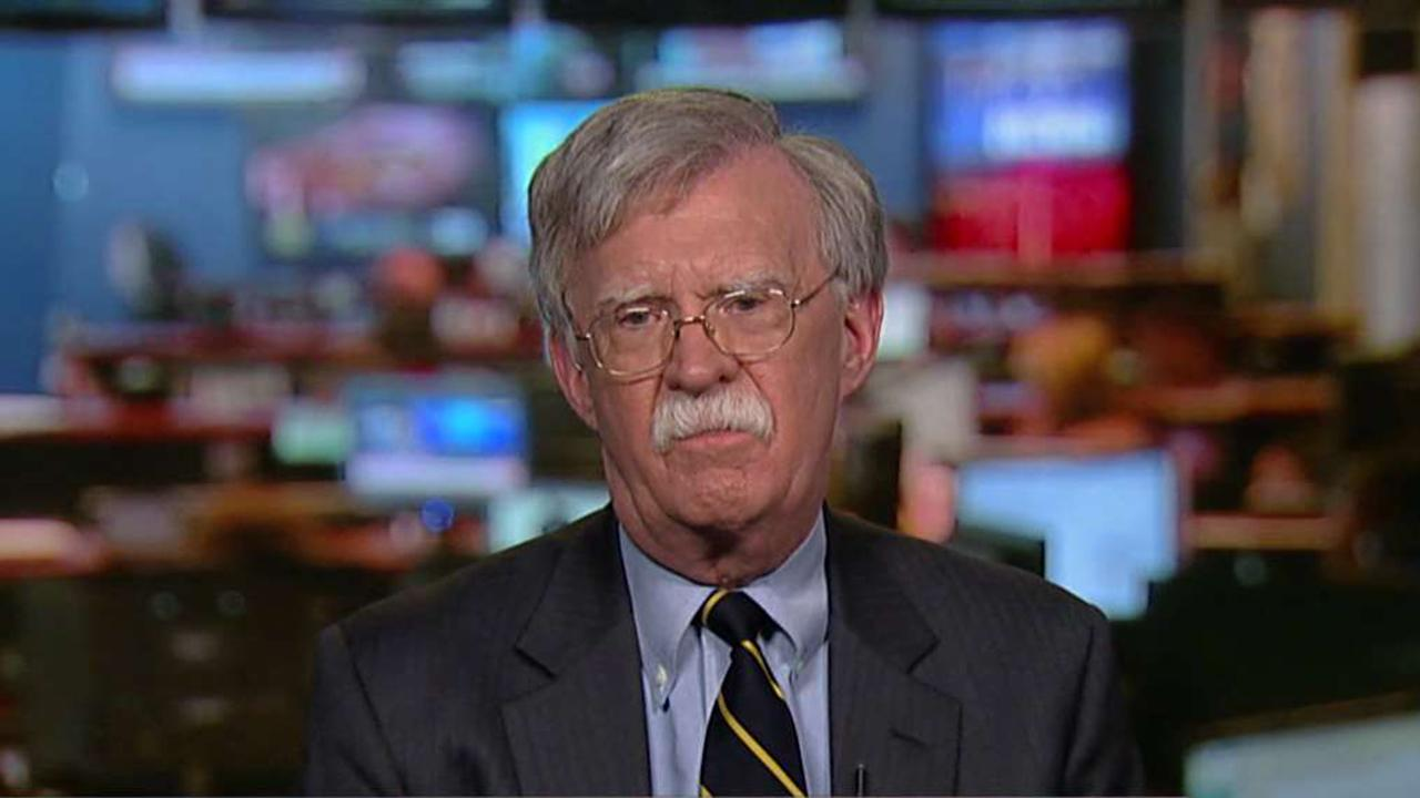 John Bolton, former U.S. ambassador to the U.N., on whether President Trump should have congratulated Russian President Vladimir Putin on his reelection. Bolton also discussed the problems with White House leaks.