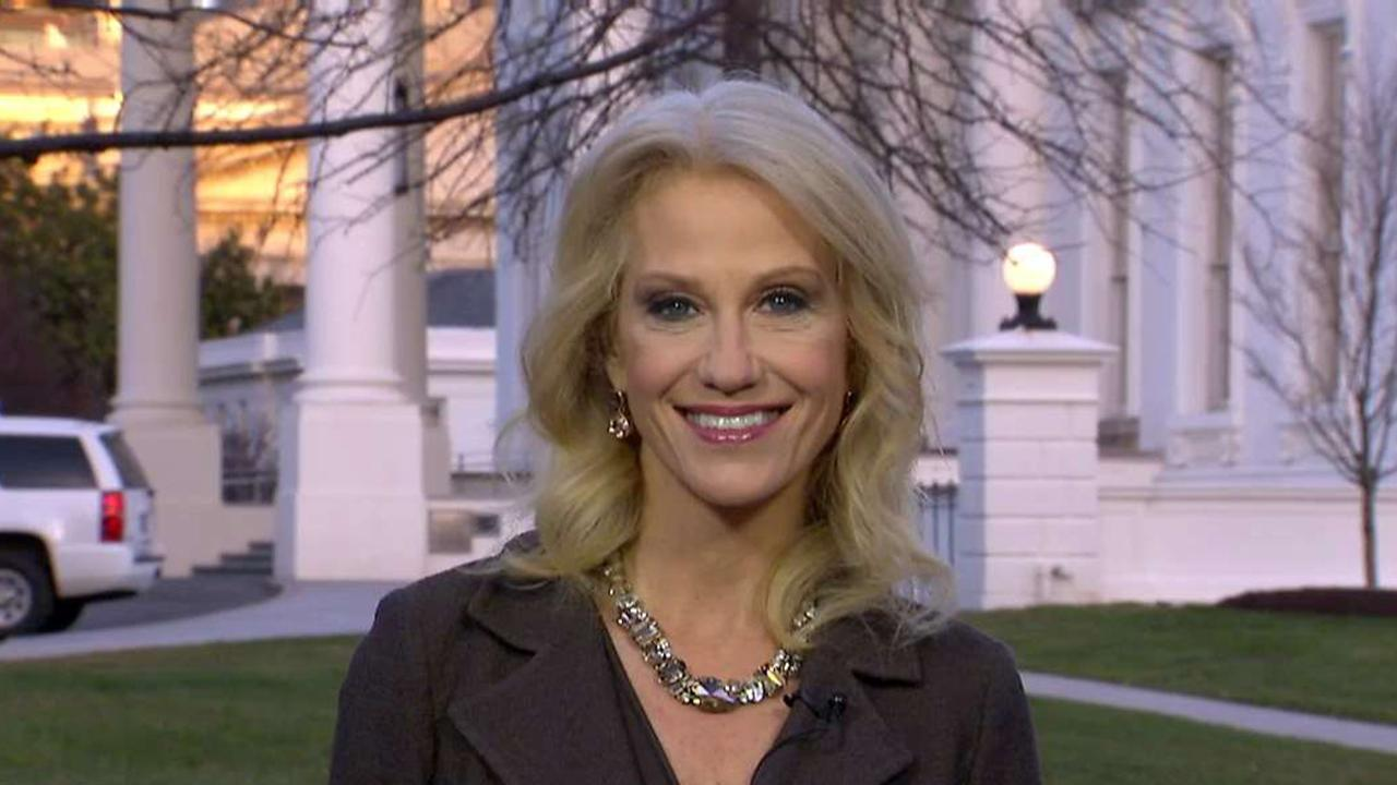 Kellyanne Conway, counselor to President Trump, discusses the president's push for fair trade with China and why the commander-in-chief was forced to sign the $1.3 trillion spending bill.