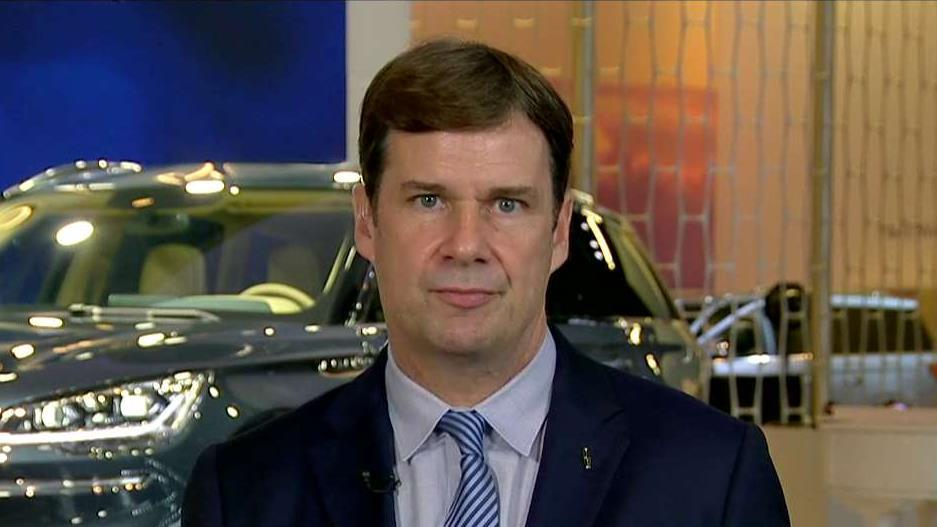 Ford Executive Vice President Jim Farley on the impact of steel and aluminum tariffs on the auto industry and concerns about autonomous vehicle safety.
