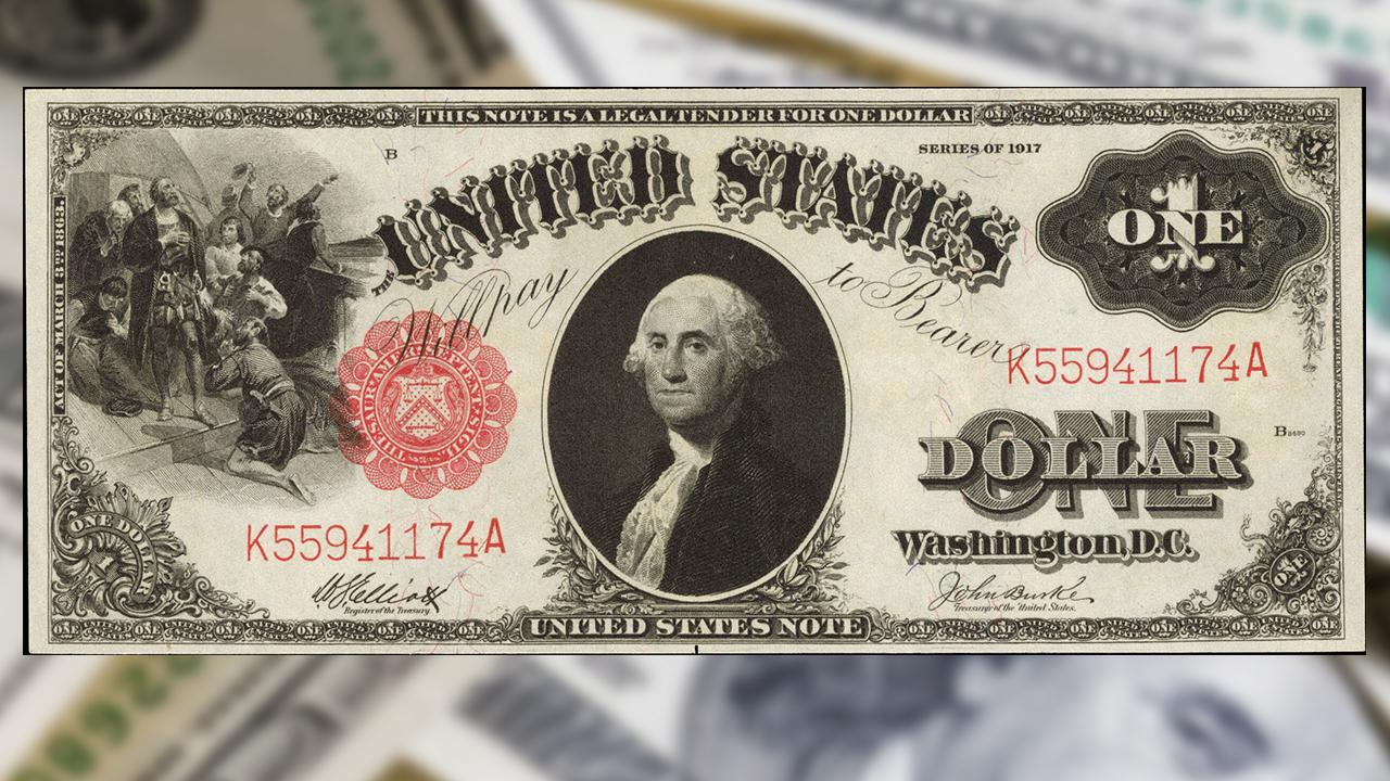 This is the rarest, most valuable US bills collection on the