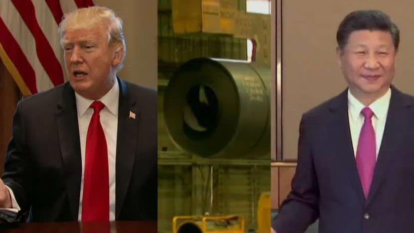 """""""The Coming Collapse of China"""" author Gordon Chang discusses whether a trade war with China is on the horizon after President Trump announced imposing tariffs on steel and aluminum imports."""