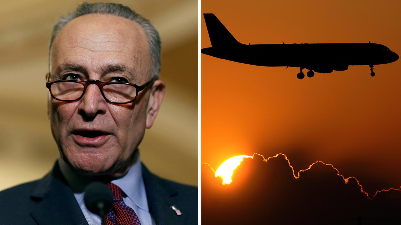 Fox Business Outlook: New York Senator Chuck Schumer calls on the Federal Trade Commission to investigate reports that major airlines would collect personal data from passengers and use it to set personalized prices.