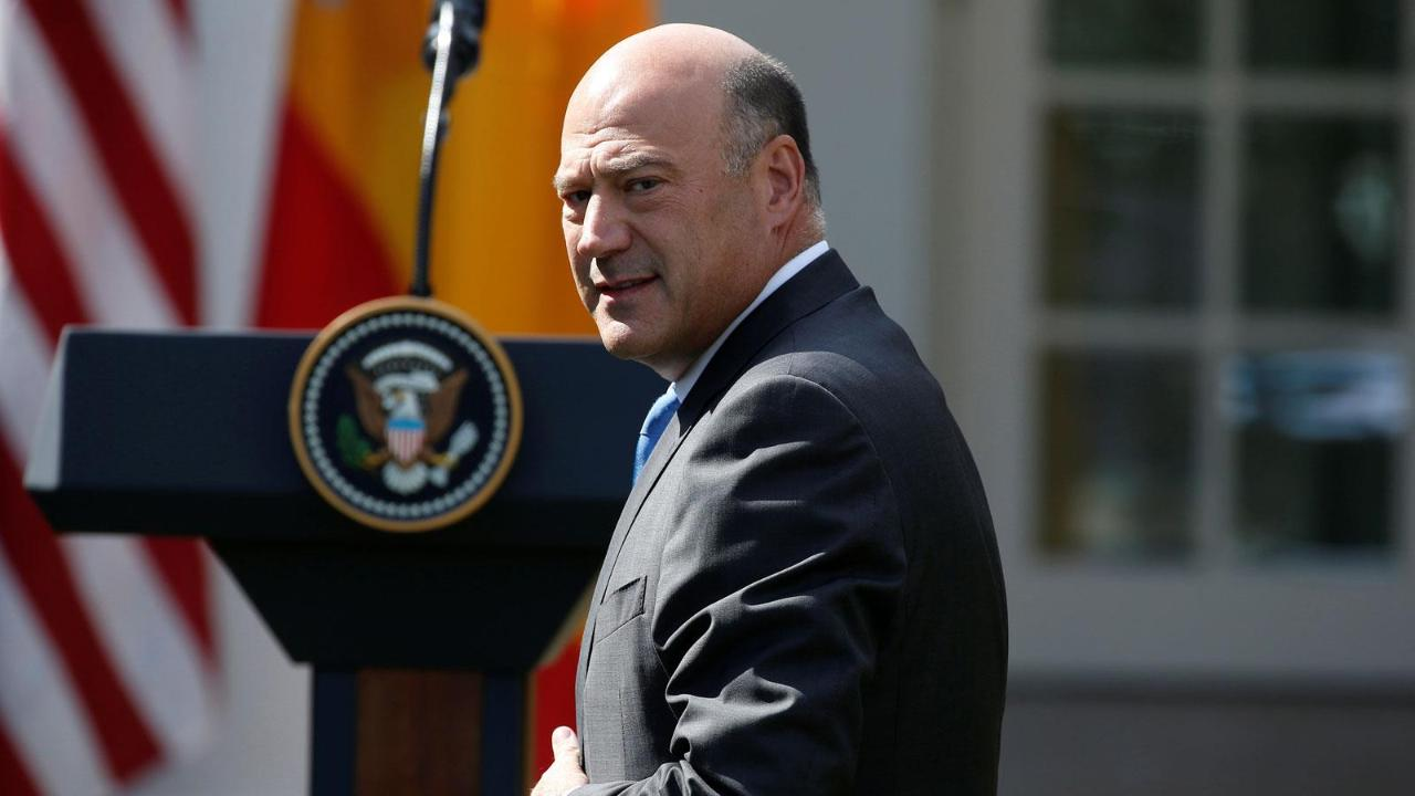 The Wall Street Journal Deputy Editorial Page Editor Dan Henninger and FBN's Stuart Varney on reports President Trump said Gary Cohn may return to the White House.