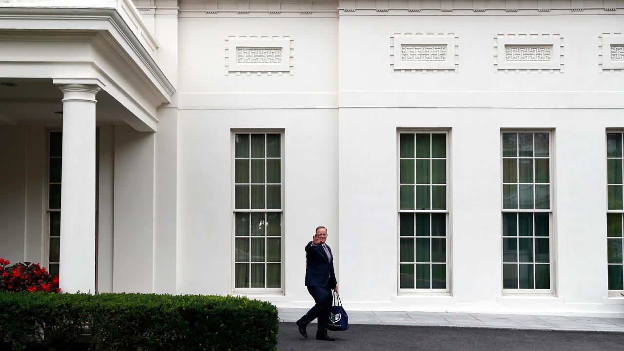 Sean Spicer, the former White House press secretary for President Trump, provides insight into the many departures from the White House, including National Economic Council Director Gary Cohn, who announced his resignation this week over Trump's plan to implement tariffs on steel and aluminum.