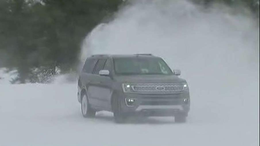 FBN's Jeff Flock on Ford testing vehicles' performance in the winter weather.