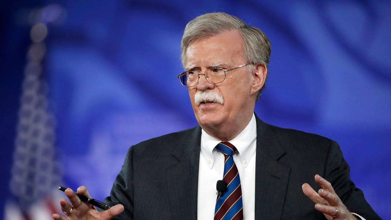 How will John Bolton help President Trump deal with issues like Syria?