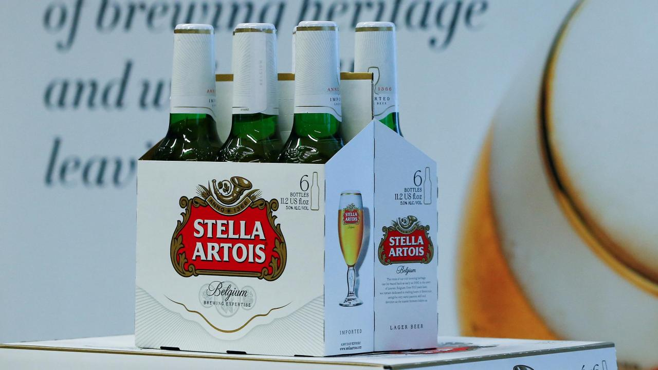 FBN's Cheryl Casone on Stella Artois' voluntary recall of glass bottles.