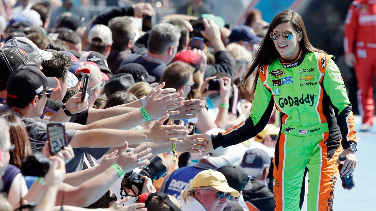 Professional race car driver Danica Patrick on the Indianapolis 500 and her future after retiring from racing.