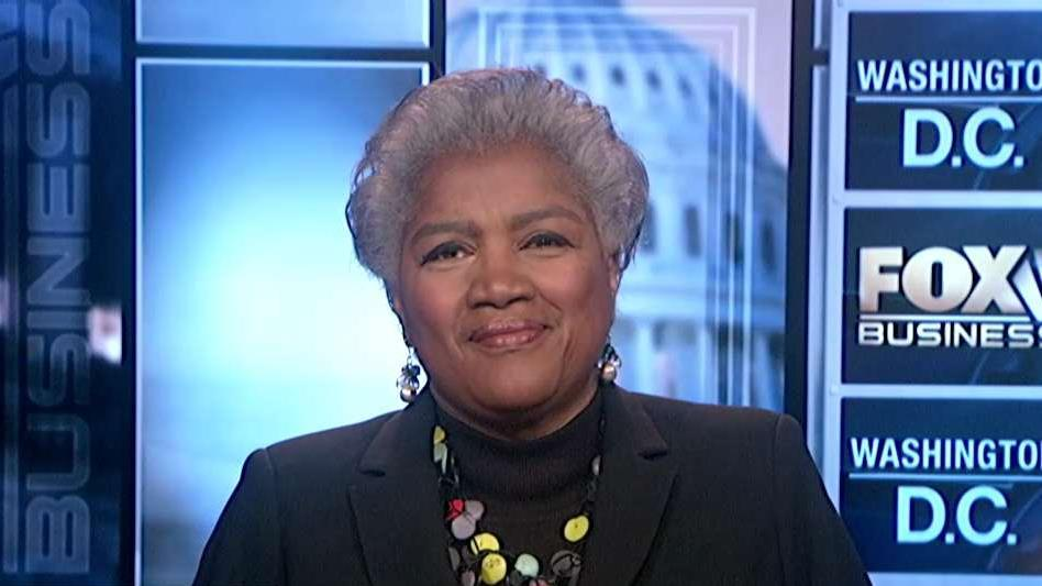Former DNC Chair Donna Brazile on President Trump's trade policy.