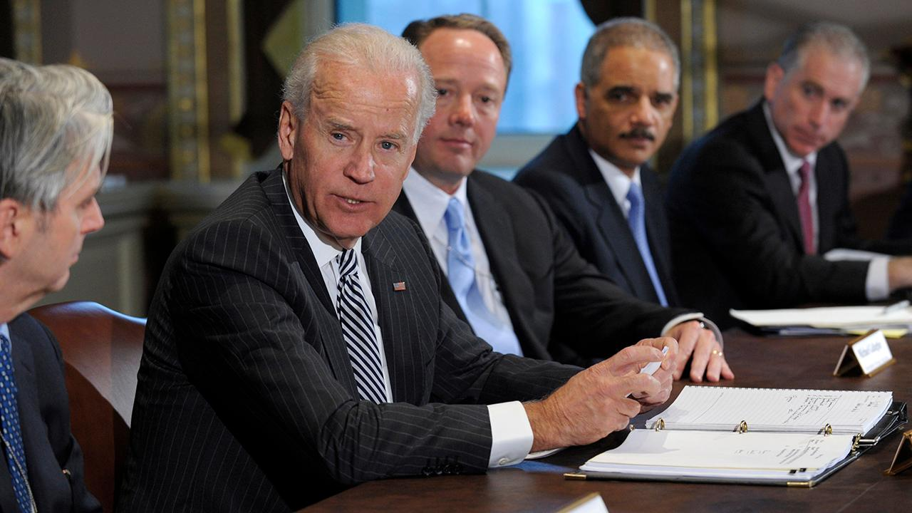 FBN's Charlie Gasparino discusses the potential presidential candidacy of former Vice President Joe Biden in 2020.