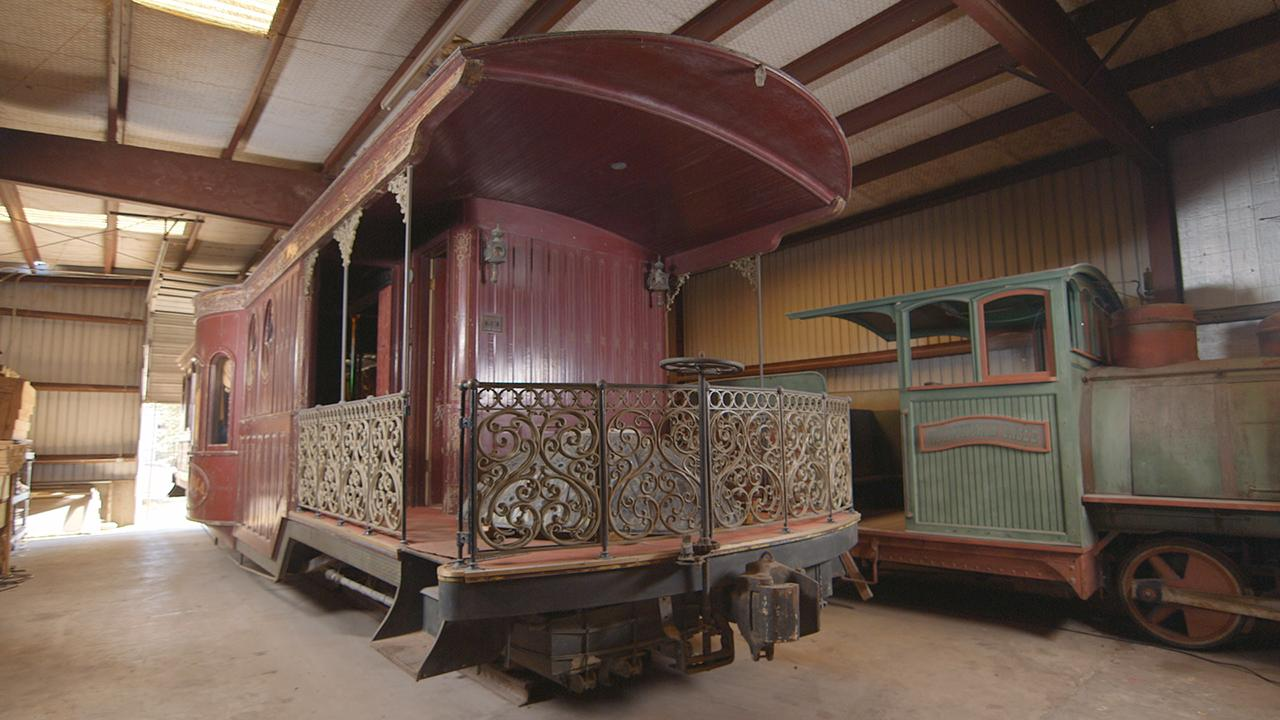 A Houston man inherits a luxury train car custom made for the legendary politician behind the world's first indoor stadium.
