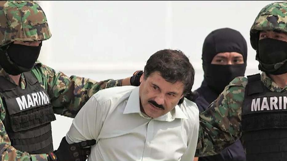 """Hunting El Chapo"" author Andrew Hogan on catching Mexican drug lord El Chapo."