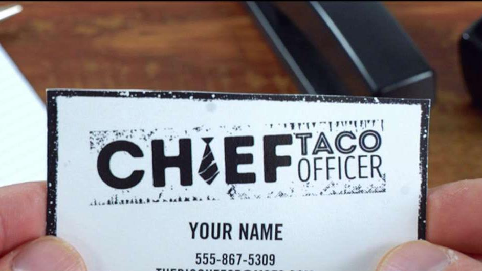 FBN's Cheryl Casone on Moe's Southwestern Grill looking to hire a Chief Taco Officer.