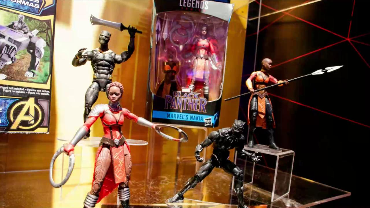 "Reports surfaced that a ""Black Panther"" toy shortage has hit store shelves. However, Disney and Hasbro have denied the claims, saying inventory is abundant with a second wave of products hitting stores soon."