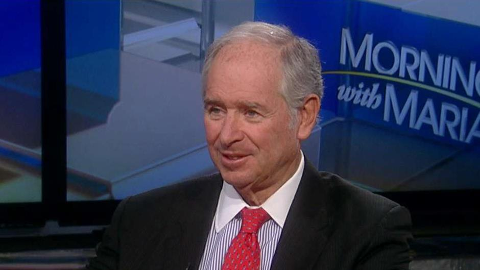 Blackstone CEO Stephen Schwarzman on retail investors and U.S. trade with China.