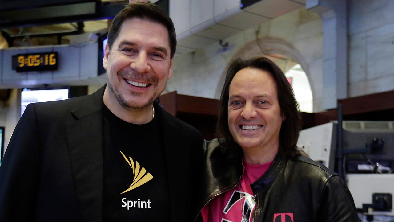 Sprint CEO Marcelo Claure and T-Mobile CEO John Legere discuss why they are attempting for a third time to merge their companies.