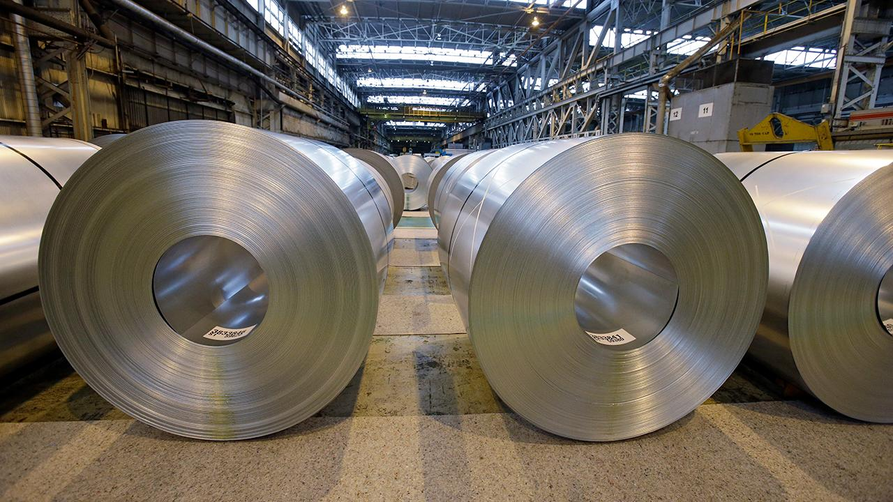 Howard Steel Owner James Howard reacts to President Trump's decision to move ahead with his tariff on steel.