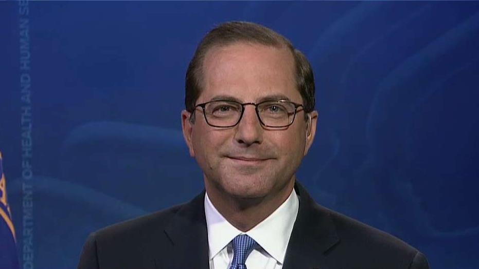 HHS Secretary Alex Azar on the Trump administration's efforts to rein in drug prices.