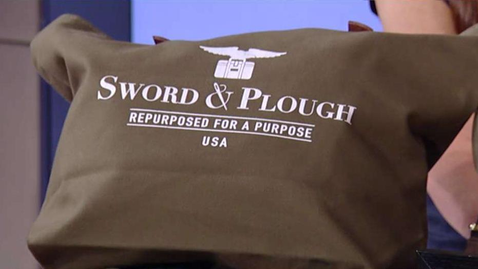 Sword & Plough co-founders Emily Nunez Cavness and Betsy Nunez on how their small business' product line and how it is giving back to veterans.
