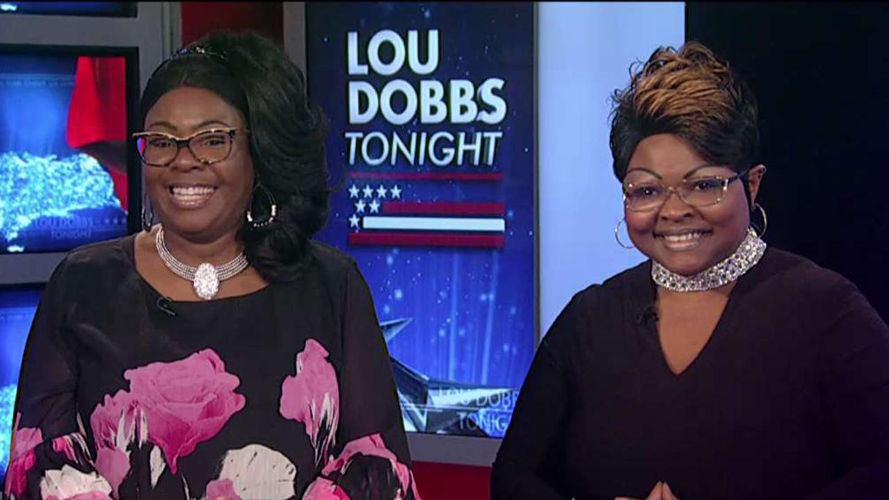 Trump supporters Diamond and Silk accuse Facebook of censoring their content and discuss how the social media giant is trying to rectify the situation.<br>