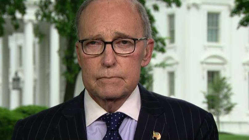 National Economic Council Director Larry Kudlow on the Trump administration's trade negotiations with China and the state of the U.S. economy.