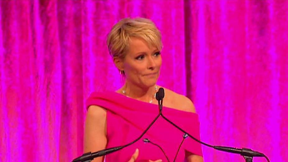 FBN's Gerri Willis on receiving the Susan G. Komen Impact Award.