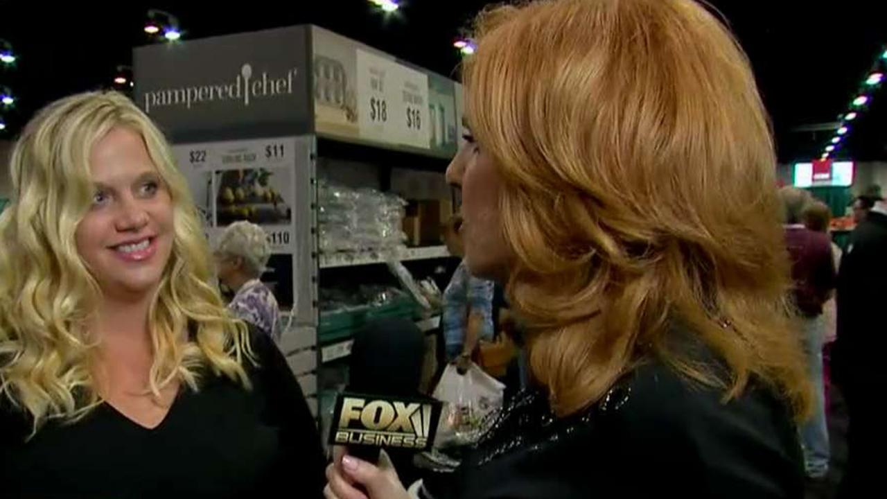 Warren Buffett's handpicked protégé, Pampered Chef CEO Tracy Britt Cool, tells FOX Business' Liz Claman how she convinced the Oracle of Omaha to become her business partner.