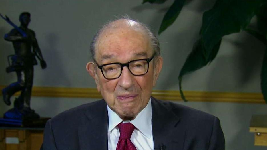 Former Federal Reserve Chairman Alan Greenspan on Federal Reserve policy, the outlook for the economy, the impact of the tax reform legislation, government spending and the Trump administration's trade talks with China.